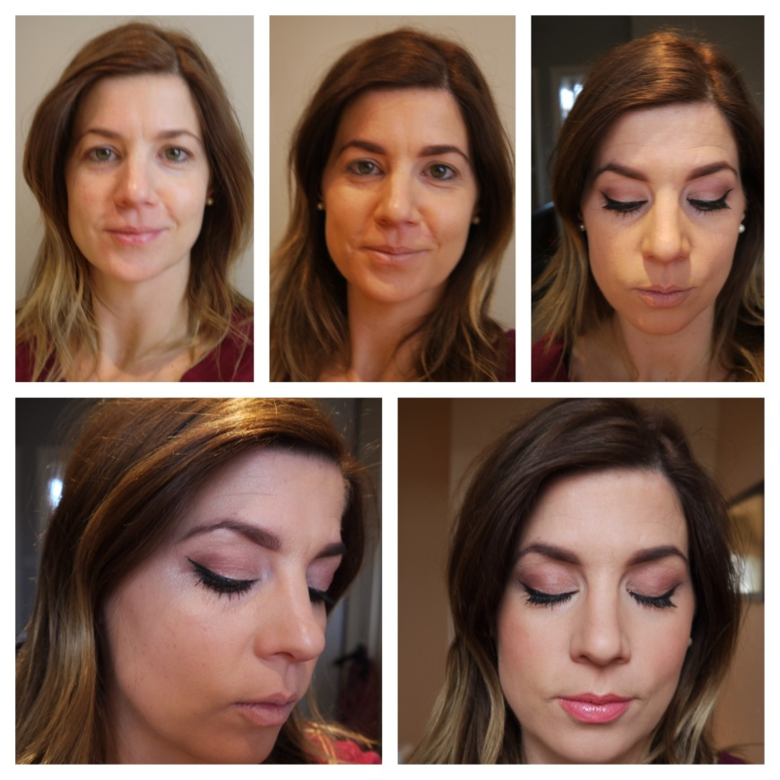 Stages of look