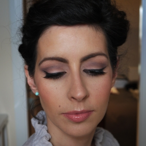 Soft Purple Smokey Eye